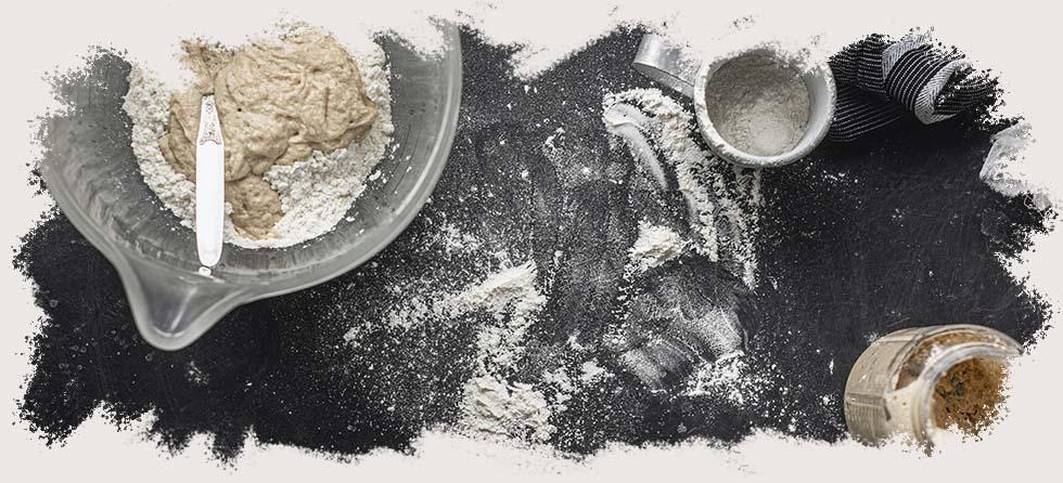 Harinas sin gluten, tipos de harinas, recetas sin gluten, pan sin gluten.