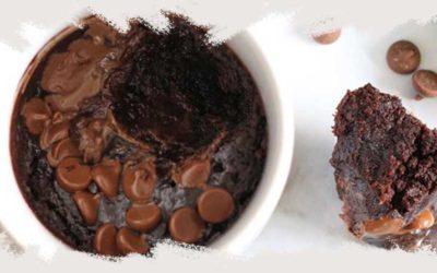 Aprende a hacer tu Mug Cake de chocolate sin gluten.