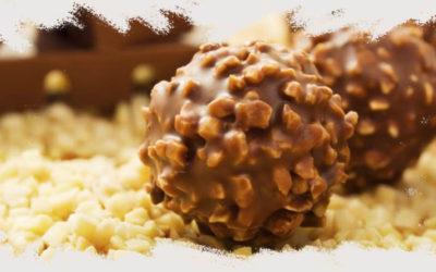 ¡La mejor receta de helado de Ferrero Rocher sin gluten!